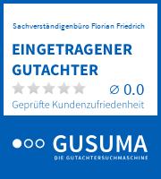 Eingetragener Sachverständiger der GuSuMa   gusuma.de